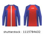 templates jersey for... | Shutterstock .eps vector #1115784632