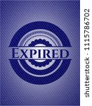 expired jean background | Shutterstock .eps vector #1115786702