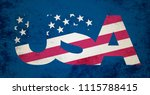 4th of july. concept background. | Shutterstock . vector #1115788415