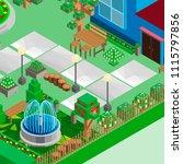 isometric game background ... | Shutterstock .eps vector #1115797856