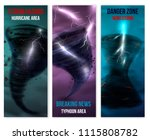storm hurricane tornado... | Shutterstock .eps vector #1115808782