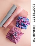 korean traditional wrapping... | Shutterstock . vector #1115810078
