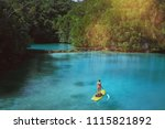 summer holidays vacation travel.... | Shutterstock . vector #1115821892