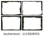 grunge frames set.vector grunge ...   Shutterstock .eps vector #1115828552