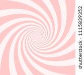 abstract spiral sweet pink... | Shutterstock .eps vector #1115839352