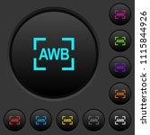 camera auto white balance mode... | Shutterstock .eps vector #1115844926