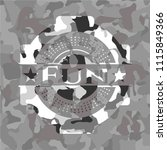 fun on grey camouflaged texture | Shutterstock .eps vector #1115849366