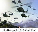 Huey Military Helicopters...