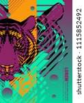 abstract cover design poster... | Shutterstock .eps vector #1115852492