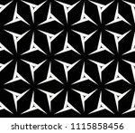 seamless pattern with symmetric ... | Shutterstock .eps vector #1115858456