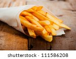 Potatoes Fries In A Little...