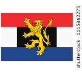 benelux union flag. luxembourg  ... | Shutterstock .eps vector #1115862275