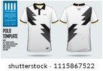 germany team polo t shirt sport ... | Shutterstock .eps vector #1115867522