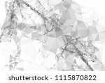 geometric low polygonal... | Shutterstock . vector #1115870822