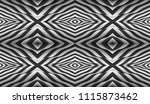 pattern with optical illusion.... | Shutterstock .eps vector #1115873462