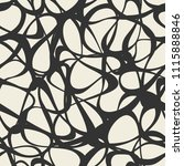 seamless pattern with abstract... | Shutterstock .eps vector #1115888846