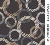 polka dot seamless pattern.... | Shutterstock .eps vector #1115889386
