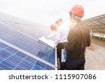 a developer and engineer... | Shutterstock . vector #1115907086