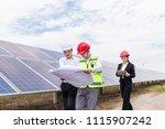 a developer and engineer... | Shutterstock . vector #1115907242