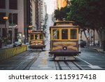 classic panorama view of... | Shutterstock . vector #1115917418