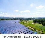 aerial power station | Shutterstock . vector #1115919236