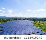 aerial power station | Shutterstock . vector #1115919242