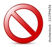 no sign | Shutterstock . vector #111594656