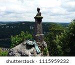 lichtenstein   germany   06.17... | Shutterstock . vector #1115959232