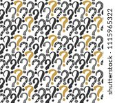 questions marks seamless... | Shutterstock .eps vector #1115965322