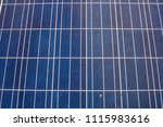 photovoltaic panels on a cloudy ... | Shutterstock . vector #1115983616
