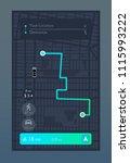 dashboard theme creative... | Shutterstock .eps vector #1115993222