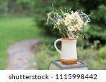 midsummer in latvia ... | Shutterstock . vector #1115998442
