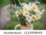 midsummer in latvia ... | Shutterstock . vector #1115998445