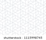 the geometric pattern with... | Shutterstock . vector #1115998745