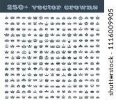 vector collection of creative... | Shutterstock .eps vector #1116009905