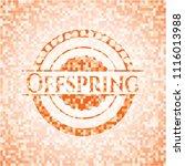 offspring abstract emblem ...   Shutterstock .eps vector #1116013988