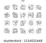 well crafted pixel perfect... | Shutterstock .eps vector #1116021668
