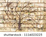 Rusty Metal Tree With Birds On...