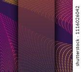 abstract communication network... | Shutterstock . vector #1116026042