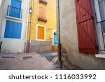 vernet les bains france july 7... | Shutterstock . vector #1116033992