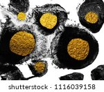 art and gold. natural luxury.... | Shutterstock . vector #1116039158