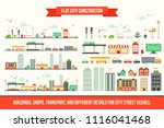 create your own city   flat...   Shutterstock .eps vector #1116041468