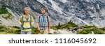 new zealand travel hiking... | Shutterstock . vector #1116045692