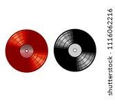 vinyl records  music day | Shutterstock .eps vector #1116062216