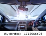 scenery from driver's seat   Shutterstock . vector #1116066605
