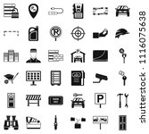 password icons set. simple... | Shutterstock . vector #1116075638