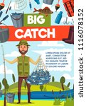 big catch fish banner for... | Shutterstock .eps vector #1116078152