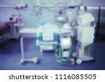 unfocused background of patient ...   Shutterstock . vector #1116085505