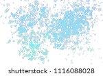 light blue  green vector cover... | Shutterstock .eps vector #1116088028