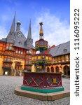 wernigerode rathaus stadt city... | Shutterstock . vector #1116095222